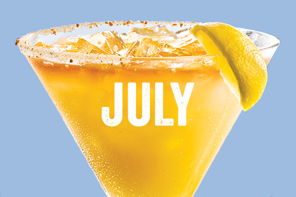 The Southern Back Porch 'Rita - Enjoy Chili's July $5 Margarita of the Month Special