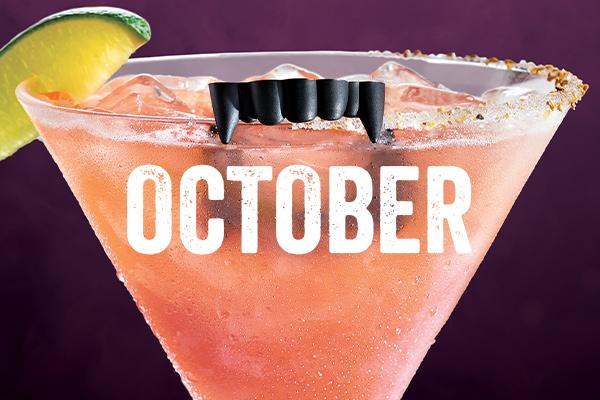 Chili's Margarita of the Month   Fangtastic 'Rita   October