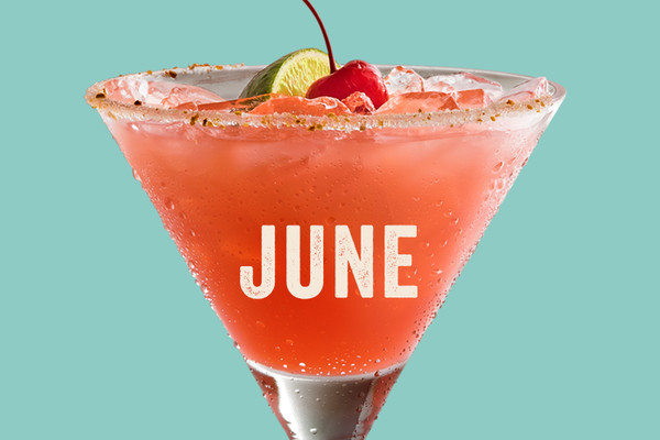 Chili's June $5 Margarita of the Month, the 1800 Stay-Cay 'Rita