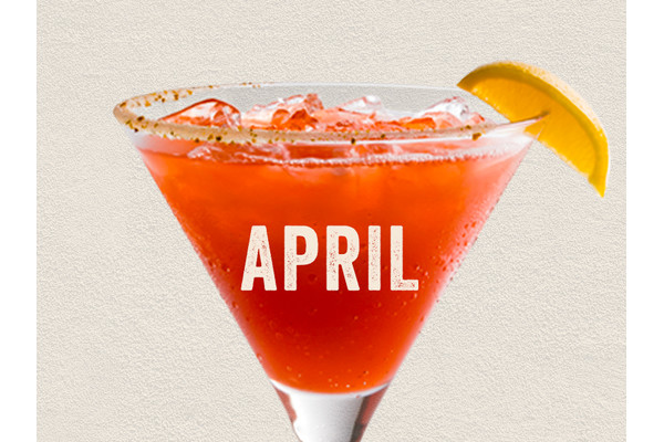 The Straw Eddy 'Rita - Enjoy Chili's April $5 Margarita of the month special