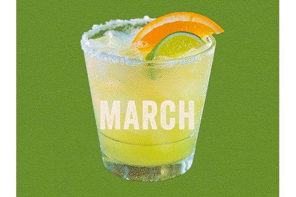 The Lucky Jameson - Enjoy Chili's March $5 Margarita of the month special