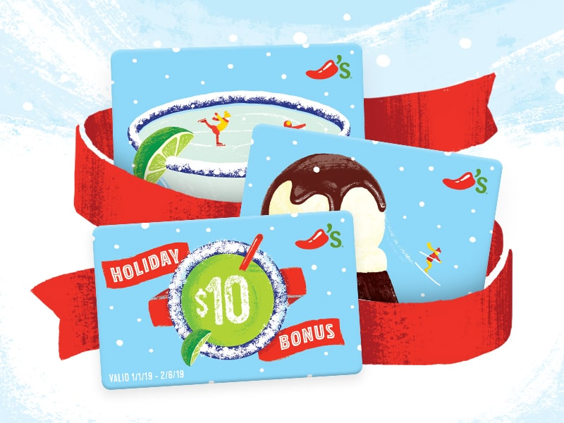 Celebrate The Holidays With Chili S Gift Cards