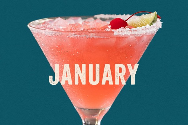 ThThe Cherry Blossom - Enjoy Chili's January $5 Margarita of the month special